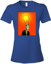 bright idea - Women's Fitted T-Shirt