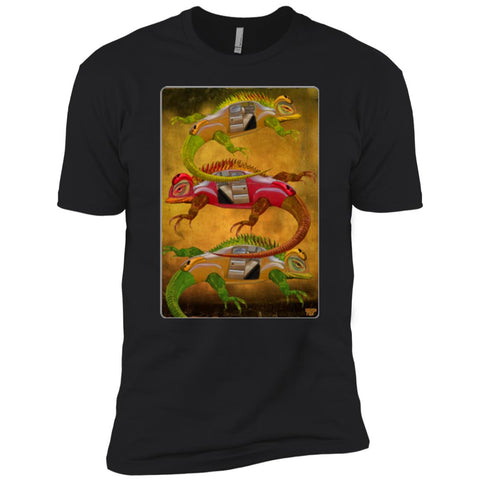 Uber Lizards  - Boys' Premium T-Shirt