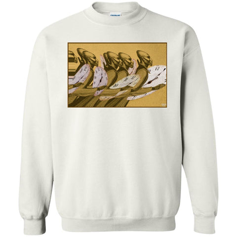 Time Marching On - color - Men's Crewneck Sweatshirt