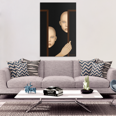 the watchers - canvas wall art