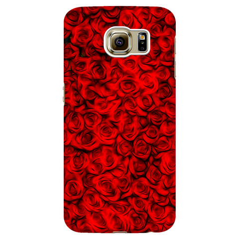 red roses - samsung phone case