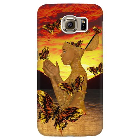 mother earth 4 - samsung phone case