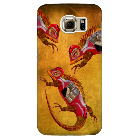 Uber Lizards Invade - Samsung Phone Case