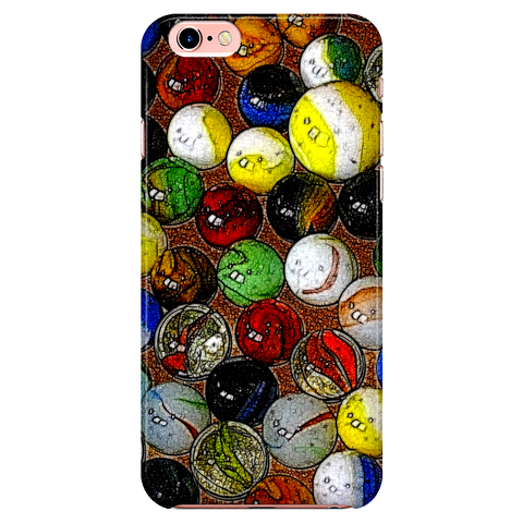 all The Marbles - iPhone case