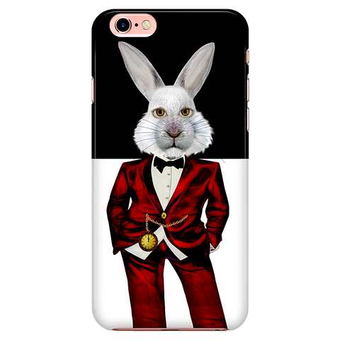 white rabbit 3 - iPhone case