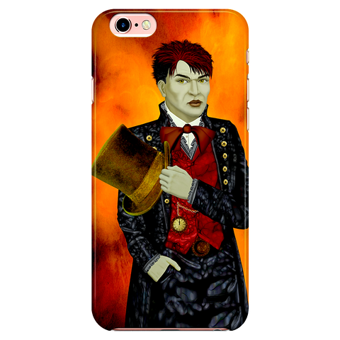 mad hatter - iPhone case