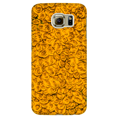 yellow roses - Samsung phone case