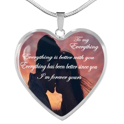 """To My Everything"" Necklace"