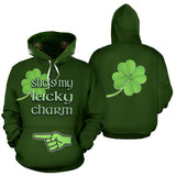 St Patrick's She's Lucky Charm Hoodie