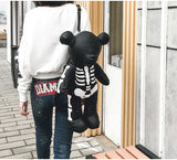 Teddy Bear Skeleton Backpack
