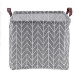 Large Modern Canvas Storage Tote