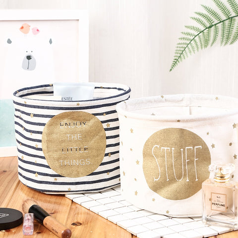 Small Cute Desktop Storage baskets