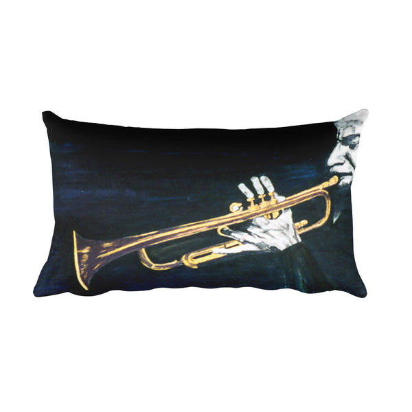 Man with the Horn2 Pillow