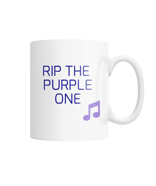 RIP THE PURPLE ONE MUG