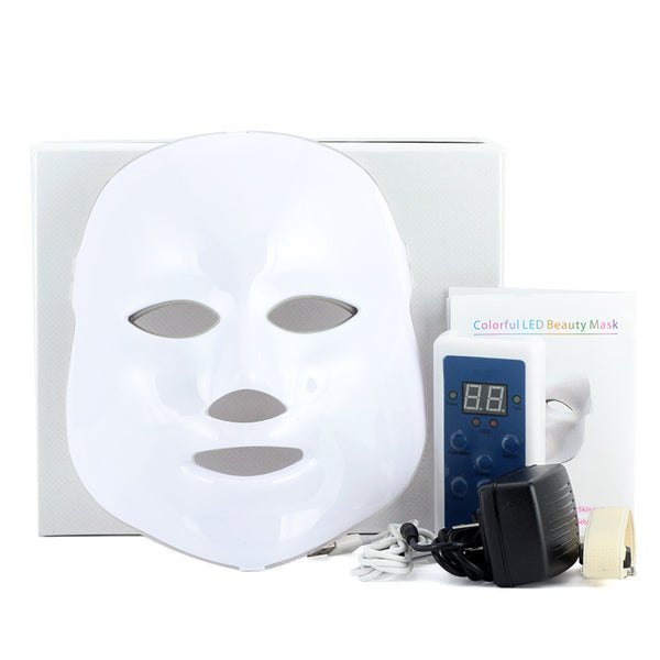 3/7 Colors Light Skin Rejuvenation Photon Electric LED Facial Mask