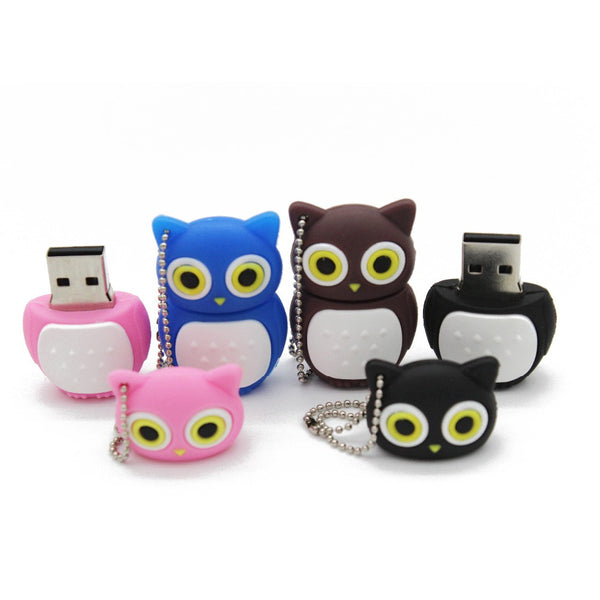 Lovely Owl USB Flash Drive
