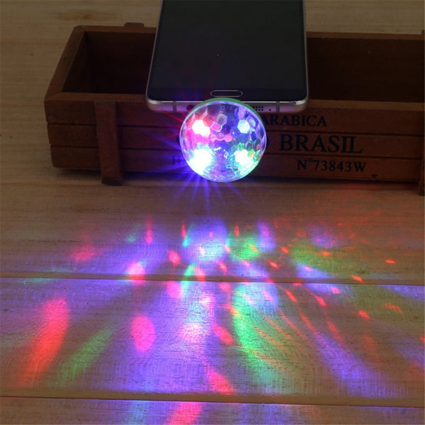 Mini Portable USB LED Disco Party Light