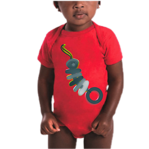 Rattle Silhouette Infant Bodysuit