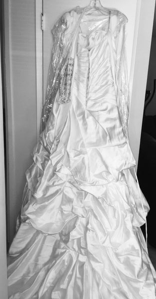 Brand New Maggie Sottero Wedding Ball Gown Dress, White Never Worn