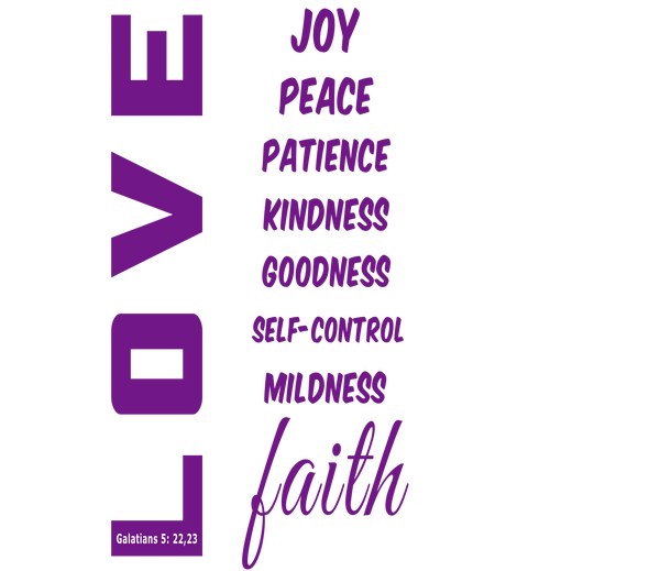 LOVE and Faith Leggings