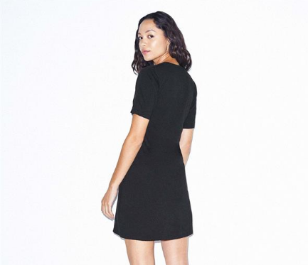 Women's Fine Jersey T-Shirt Dress