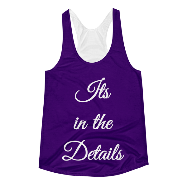 It's in The Details Women's Racerback