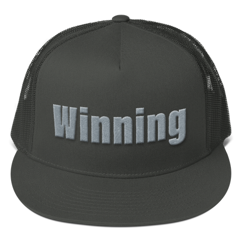 Winning Mesh Back Snapback Cap