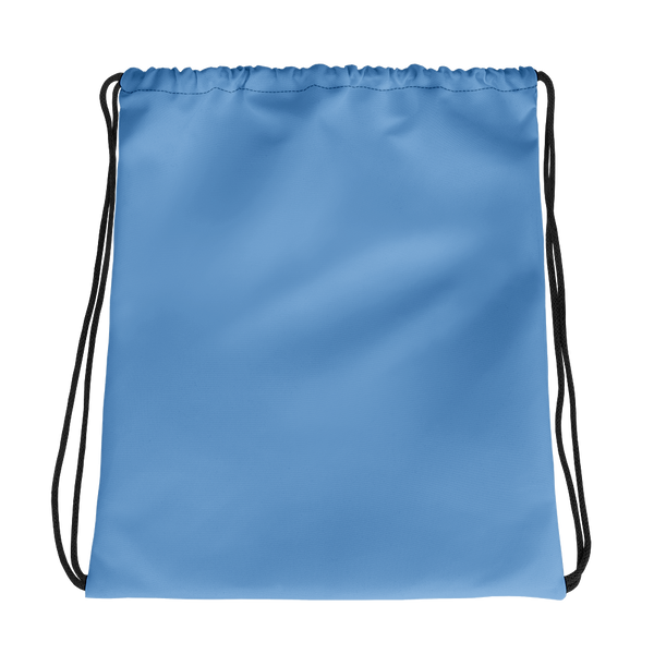 All Light Blue Drawstring bag