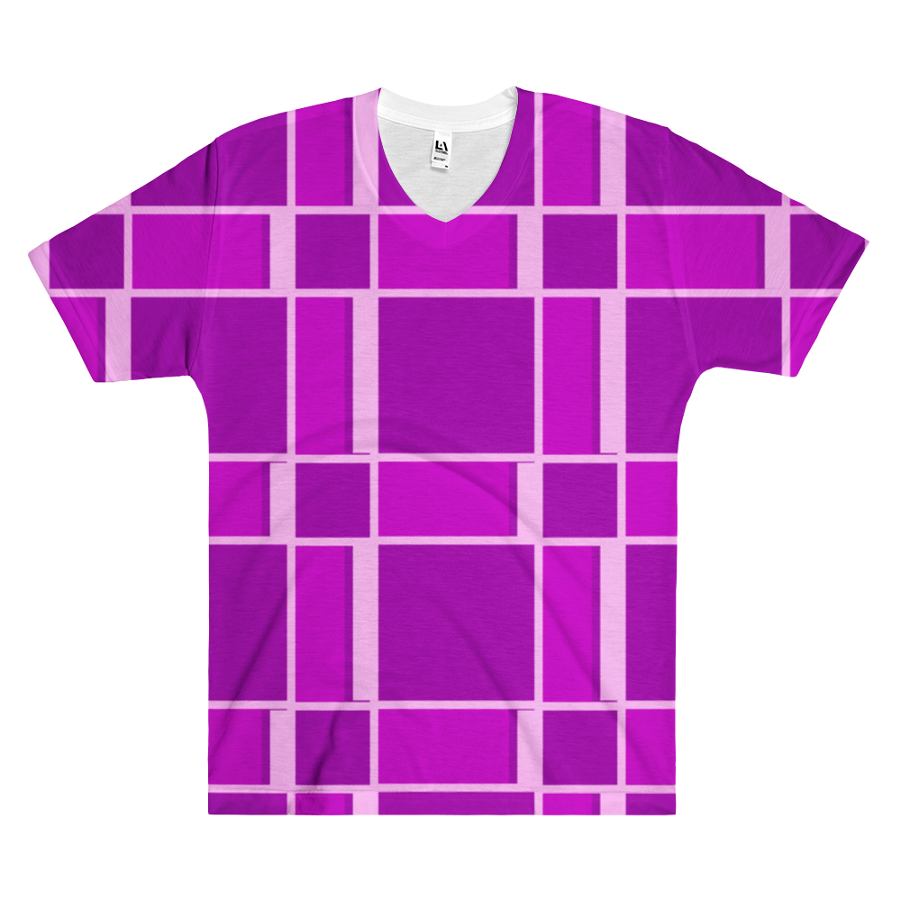The Purple's Men's V-Neck T-Shirt