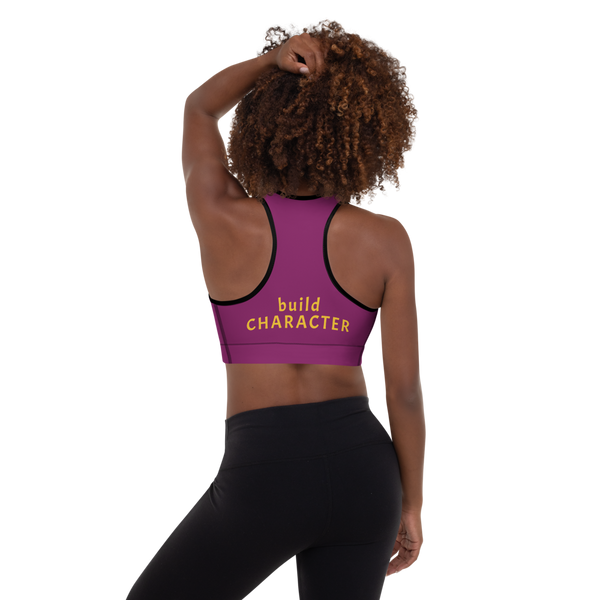 build CHARACTER Padded Sports Bra