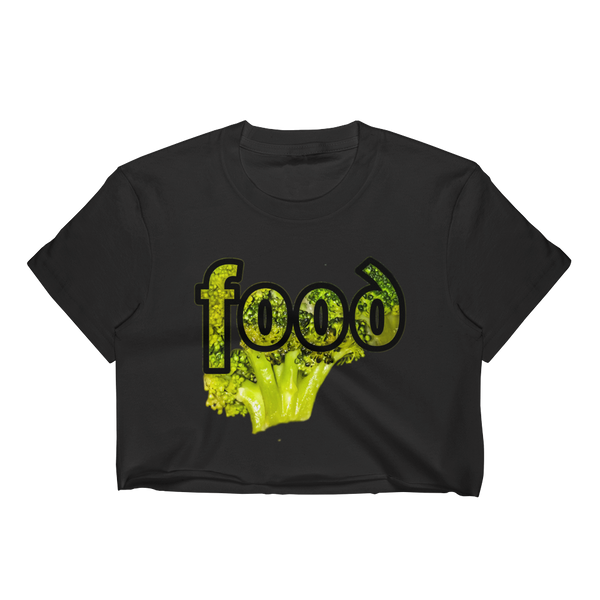 FoodB Women's Crop Top