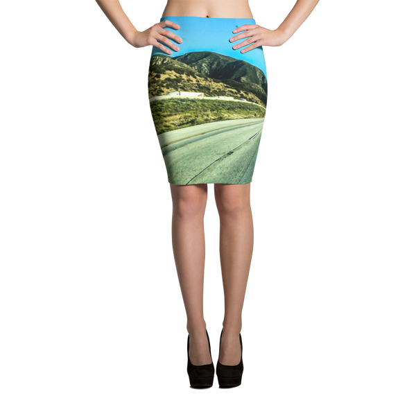 Open Road Pencil Skirt