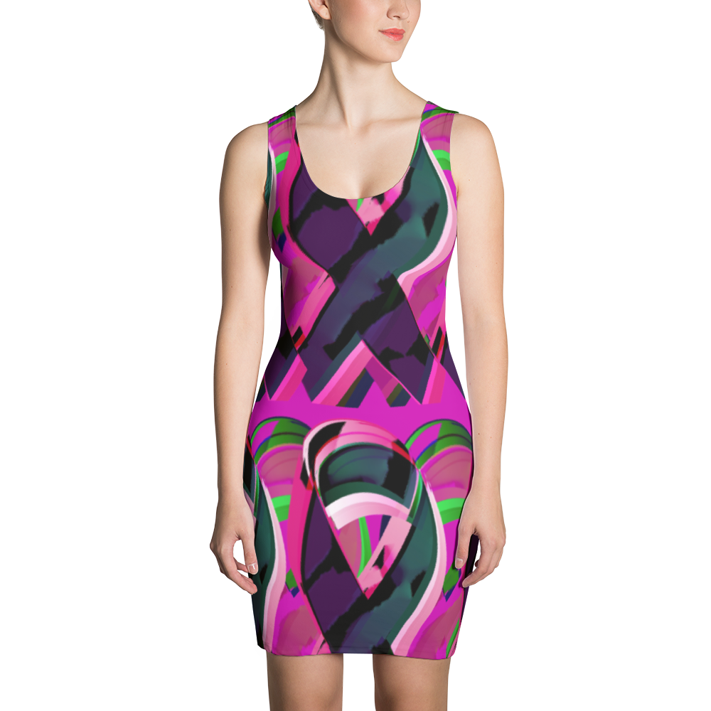 Colorful Ribbon Sublimation Cut & Sew Dress