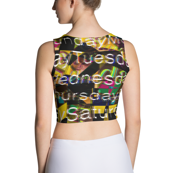 Sunday Sublimation Cut & Sew Crop Top