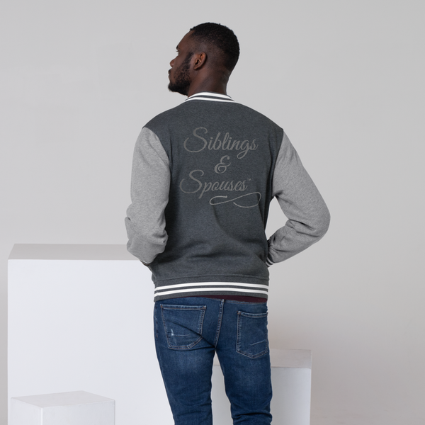 Siblings & Spouses Men's Letterman Jacket (CREATE YOUR OWN PERSONALIZED DESIGN)