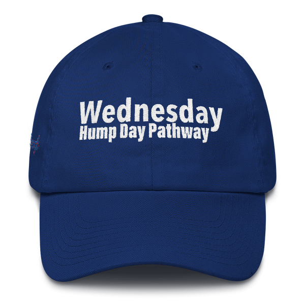Wednesday Hump Day Pathway Cotton Cap