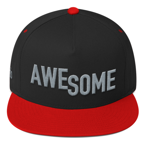 AWESOME Flat Bill Cap