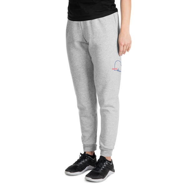 FAITH Love Heart-r/b Unisex Joggers