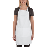 INSPIRE INNOVATE MOTIVATE-s Embroidered Apron