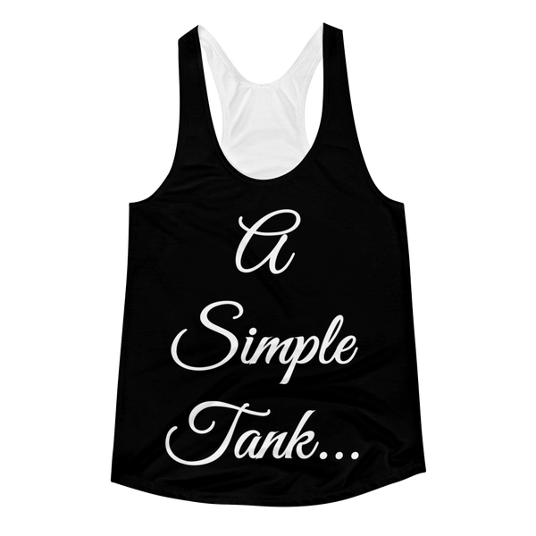 A Simple... Women's Racerback