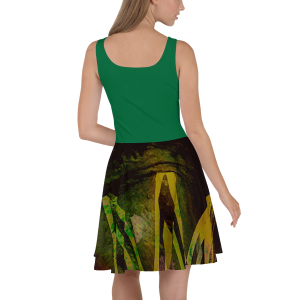 Green Bandit Skater Dress