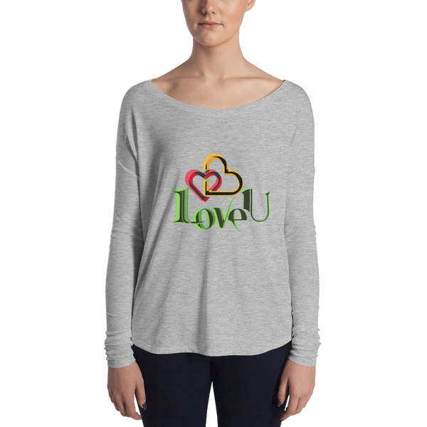 Love U Ladies' Long Sleeve Tee