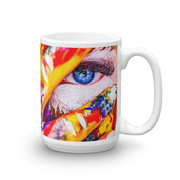 Blue Eyes Mug Made in The USA