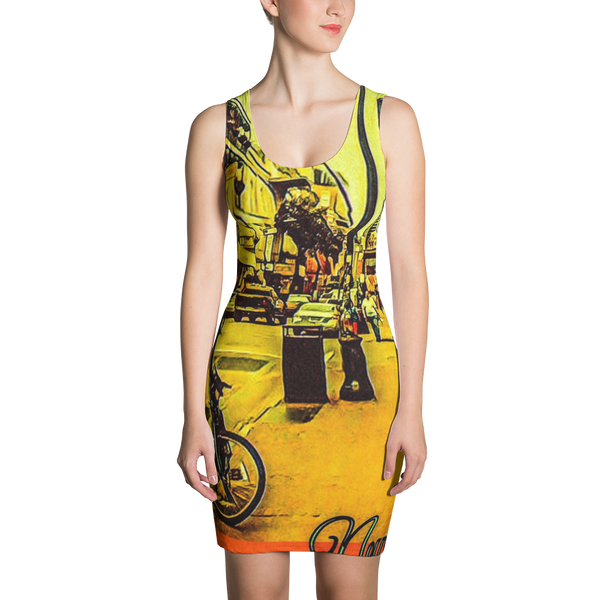New Orleans Sublimation Cut & Sew Dress