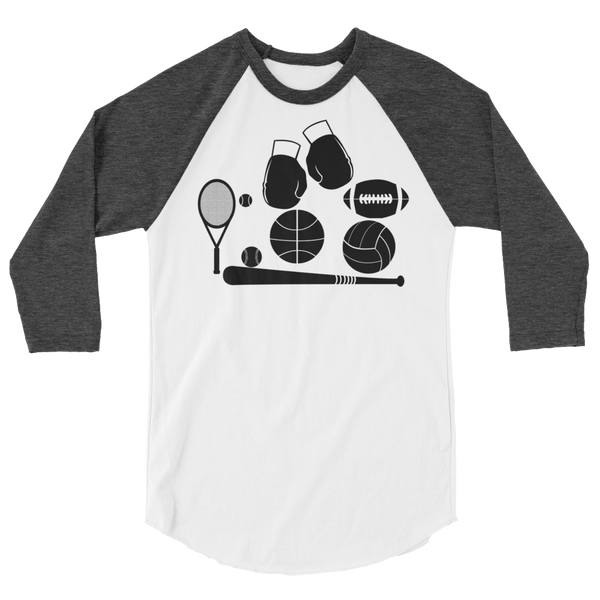 Multiple Sports Unisex Raglan