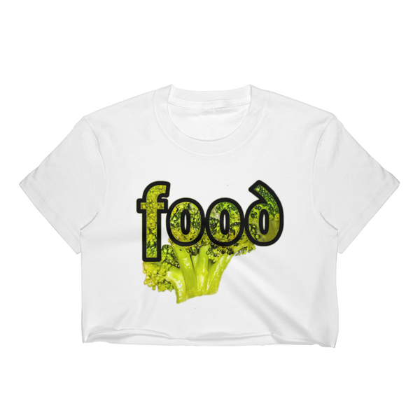 FoodW Women's Crop Top