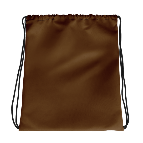 All Brown Drawstring bag