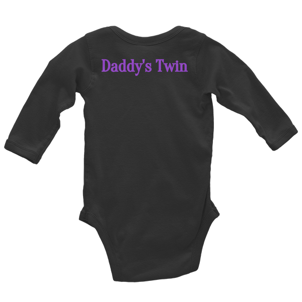 IRRESISTIBLE Daddy Infant Long Sleeve Bodysuit