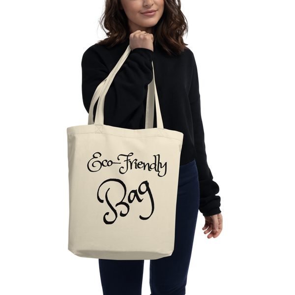 Eco-Friendly Organic Tote Bag (CREATE A PERSONALIZED DESIGN)