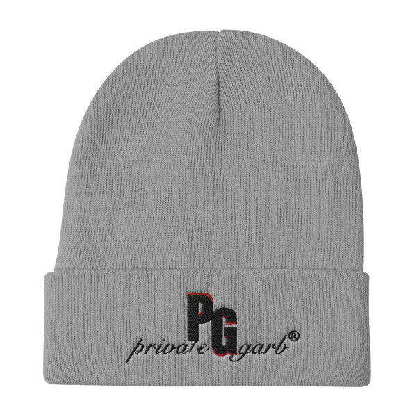 PrivateGarb® Embroidered Beanie